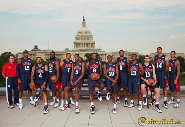 2012 USA Basketball Olympic Team