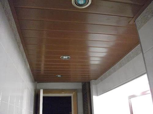 Cielorrasos en pvc uruguay precios de cielo rasos for Terminaciones de techos interiores