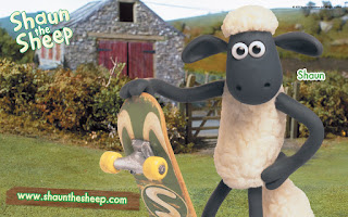 Download Gratis Wallpaper Shaun - Shaun The Sheep