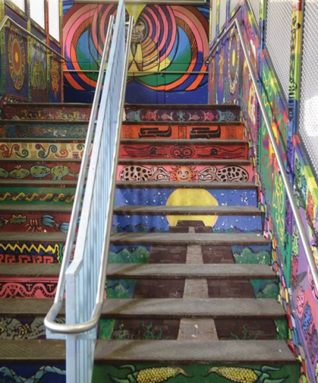 Street Stair Art Around The World