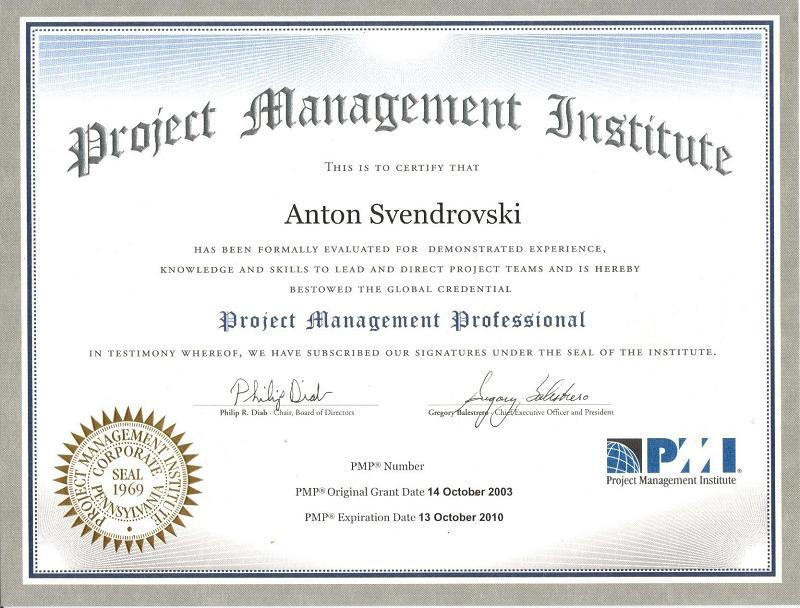 Project Management Professional - Project Management Professional ...