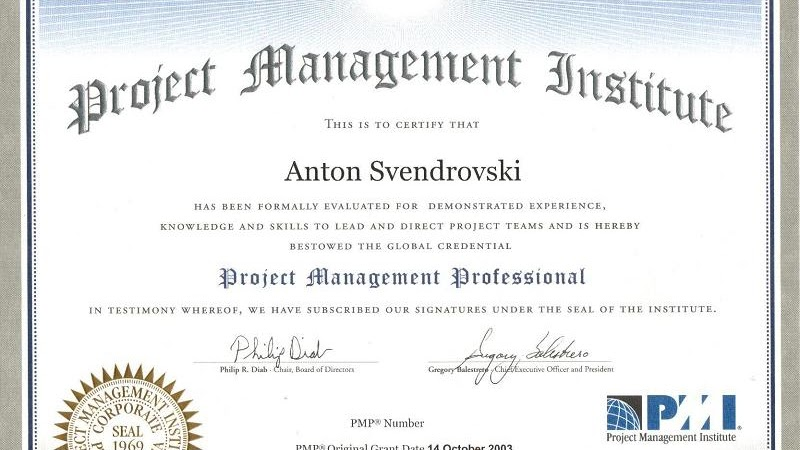 Project Management Professional Project Management Professional