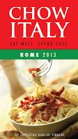 The e-book Chow Italy: Rome 2013