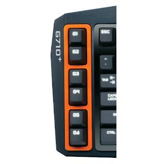 Logitech G710+ keyboard programmable G keys