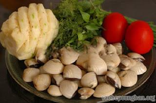 Cách làm canh ngao nấu chua đưa cơm ngày nắng2