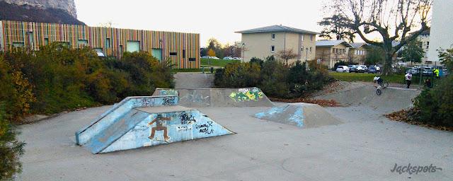 Skatepark béton Saint egreve