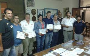 Entregaron certificaciones UAR Nivel 1 a entrenadores