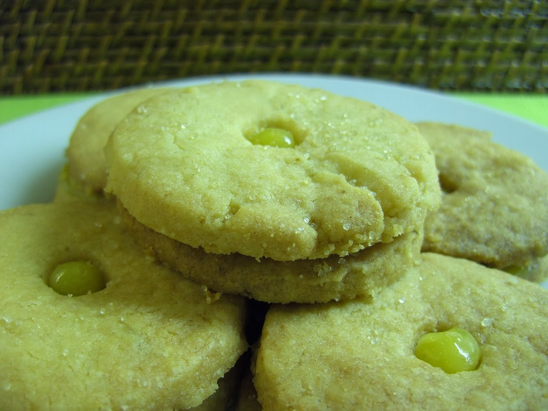 ... tiny little Tea Time Treat - Ginger and Lime Shortbread Sandwiches
