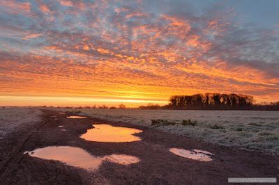 Stapleford frosty sunrise