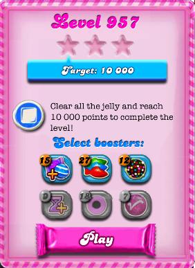 957 candy crush