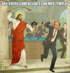 Jesus e os Mercenários.