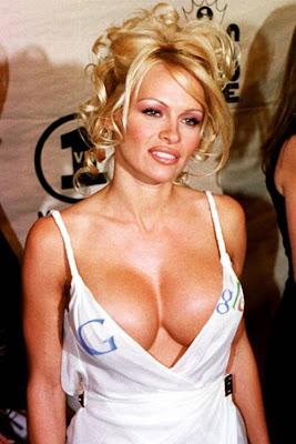 pamela-anderson-Breast-Size