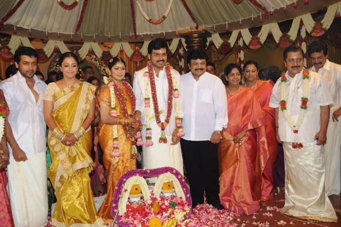 Tamil Actor Karthi Wedding Karthik Album Surya