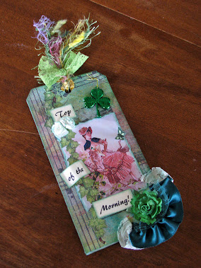 St Patrick's Day Tag Swap