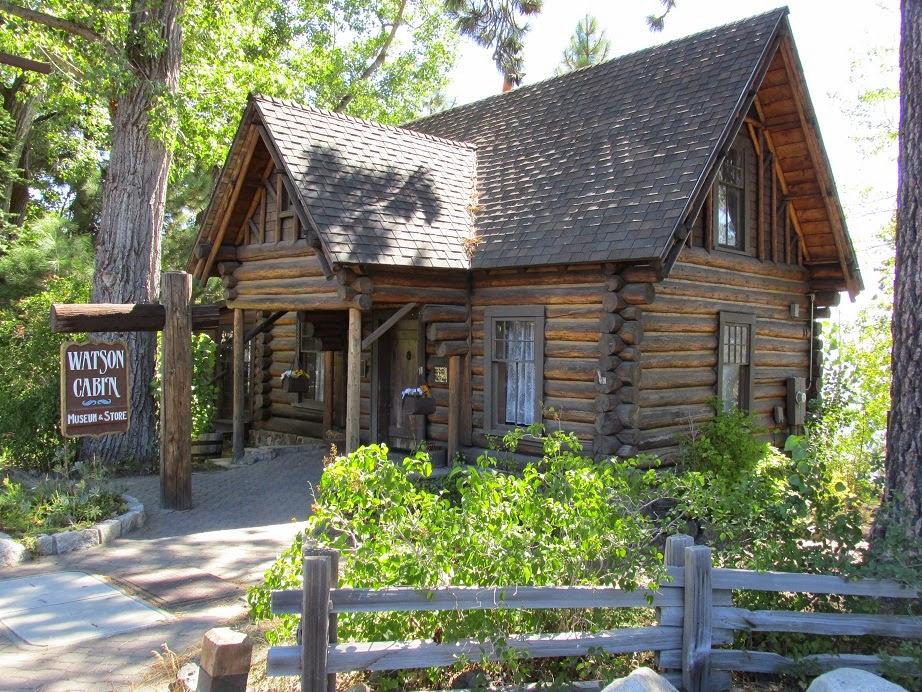 watson cabin museum tahoe city ca