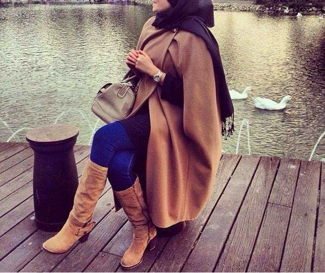 Vêtement femme voilée moderne