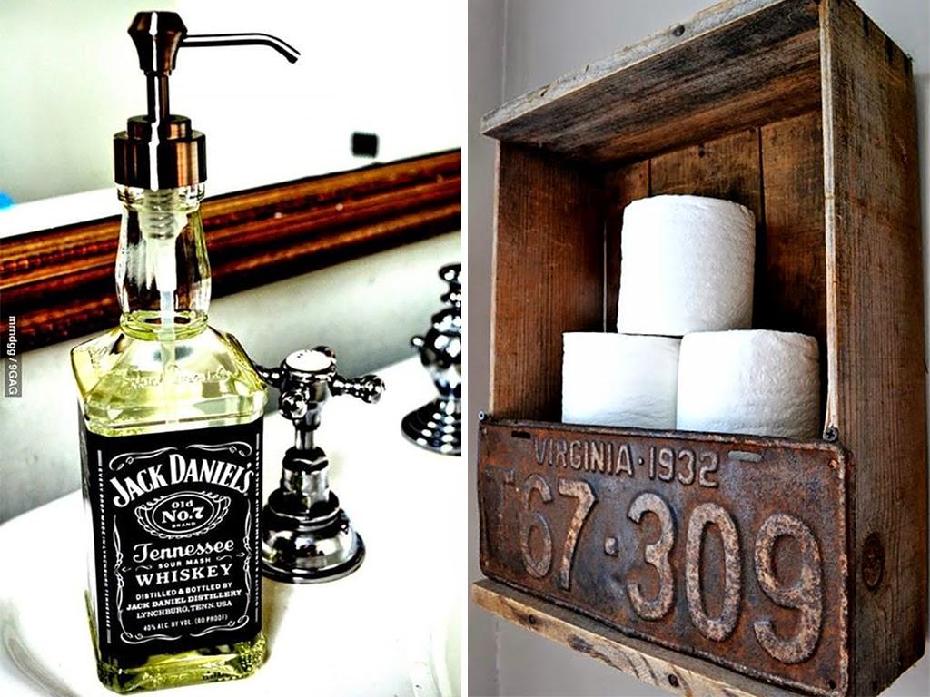 Inspirações para um banheiro mais alegre e funcional Vida Louca de  #B0641B 1024x768 Banheiro Bonito E Funcional