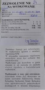 Pozwolenie Wędkarskie