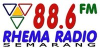Live Streaming Radio Jawa Tengah,live streaming radio 88.6 Rhema FM, Streamers Radio
