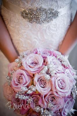 Mauvey pink vintage bouquet