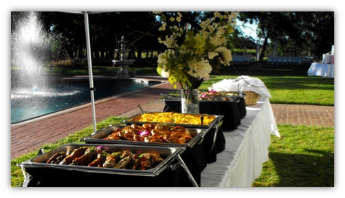 The Costs Of Catering A Back Yard Affair Wedding Planning