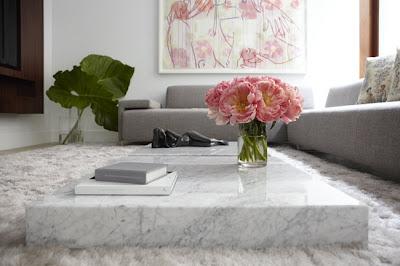 sala de estar moderna y elegante
