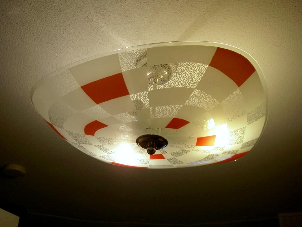 Plafond lampa retro