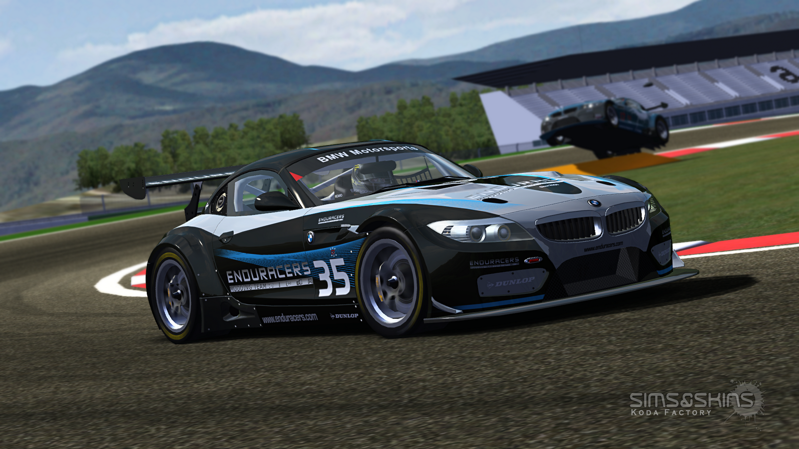 koda factory bmw z4 gt3 rfactor. Black Bedroom Furniture Sets. Home Design Ideas