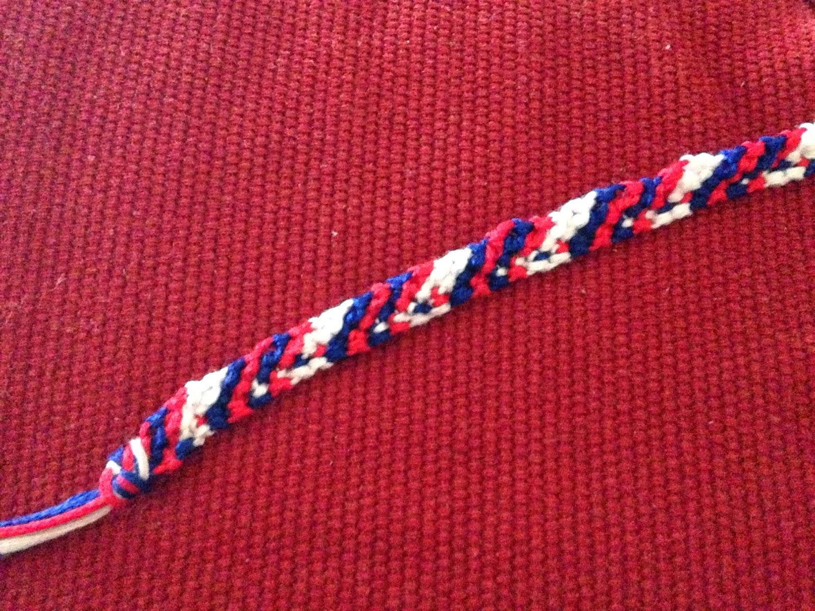 Rag Rug bracelet pattern