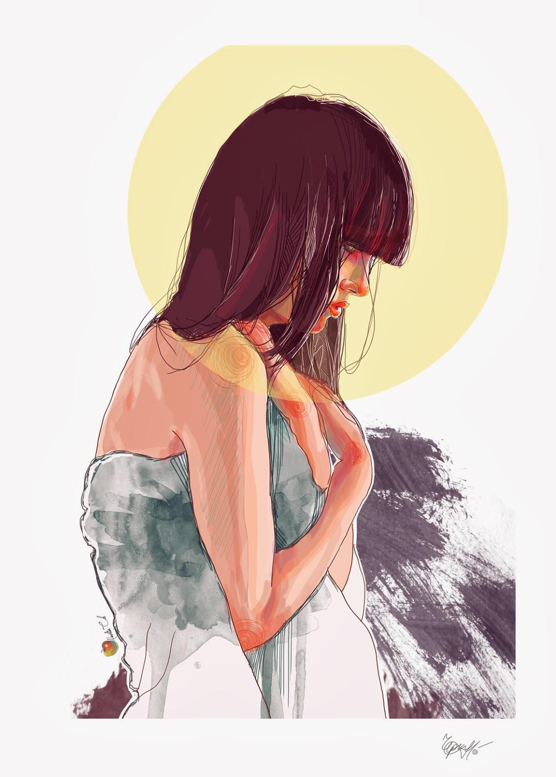 ©Nadiia Cherkasova (yourPorcelainDoll). Ilustración | Illustration