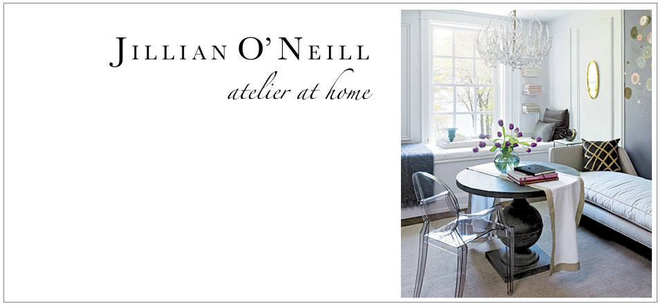 Jillian O'Neill's Atelier at Home