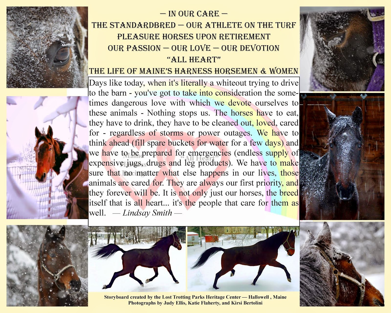 "Horsemen Making A Difference -- The ""All Heart"" Campaign"