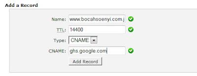 mengganti domain blogspot menjadi .com