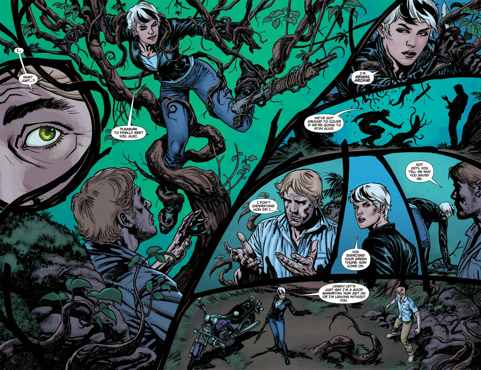 Swamp thing 003 viewcomic reading comics for The thing free online