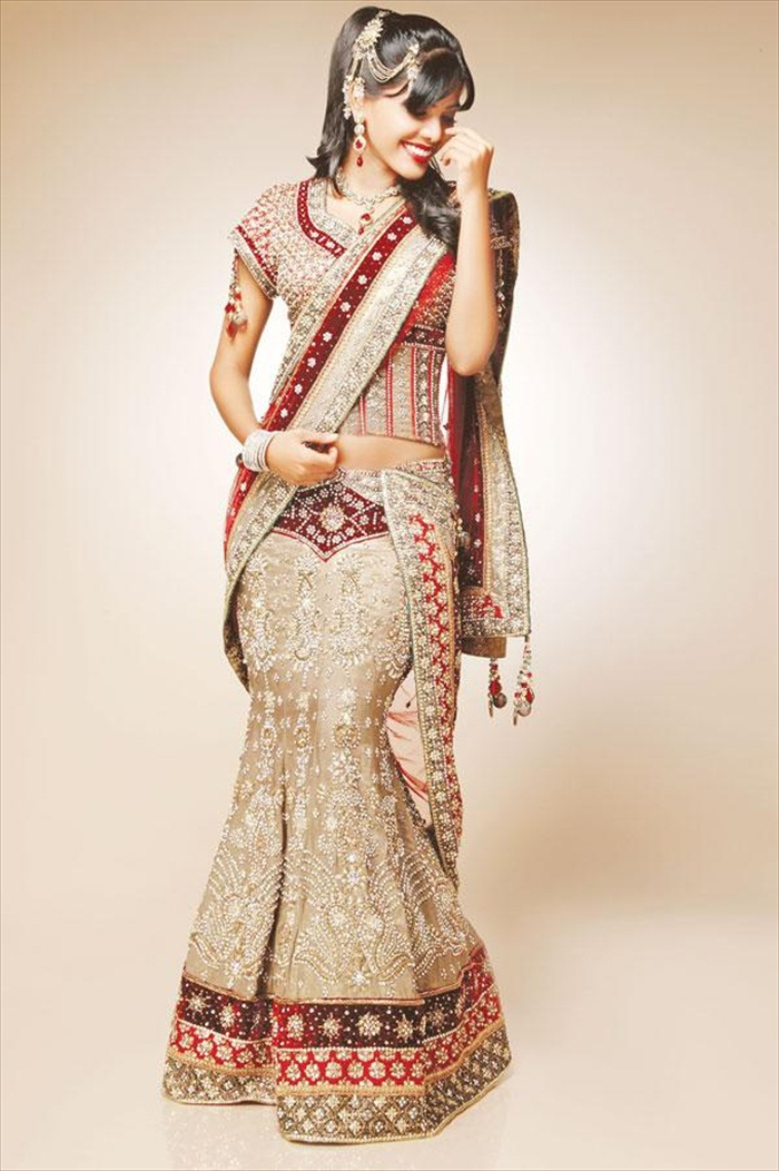 Original  DIfFeReNt Do DiFfErEnT Indian Bridal Dresses For Women 2013