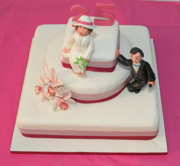 Capricci di torte 25 anni di matrimonio valgano tanta for 25 anni matrimonio