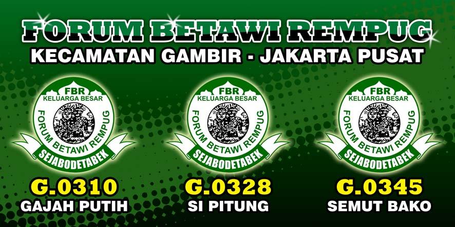 forum betawi rempug g0328 fbr kecamatan gambir