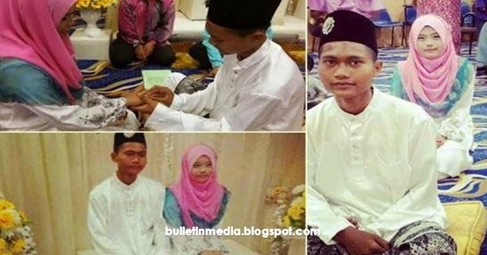 Punca Perkahwinan Remaja 15 Tahun Tersebar
