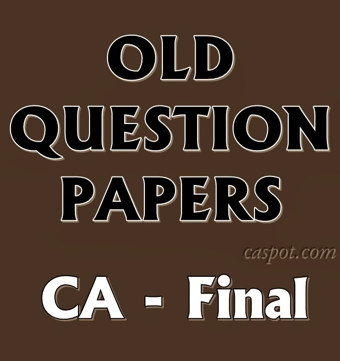 Old-Question-Papers-of-ca-final