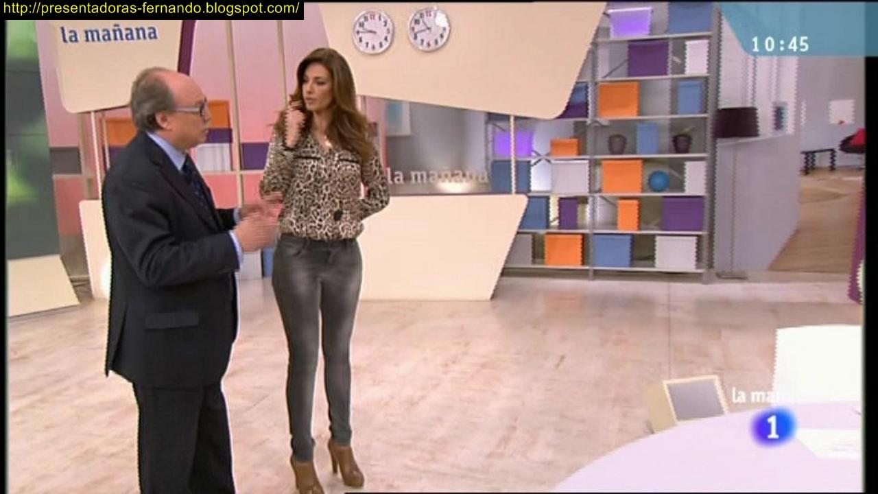 Presentadoras-Fernando: Marilo Montero con pantalones ajustados en La