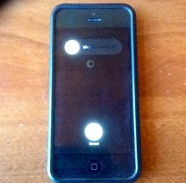 unplugging from cell phone