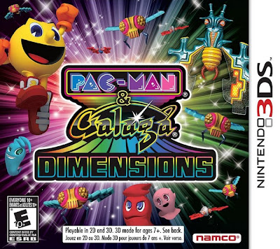 Pac-Man & Galaga Dimensions 3DS