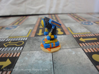 Hammer Bot, painted, side 1 view