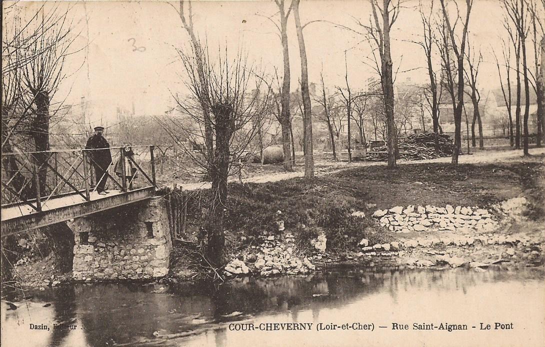 Aux abords du Conon - Cour-Cheverny