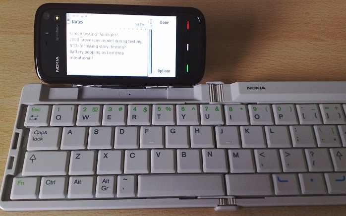 Wireless Keyboard Screenshot
