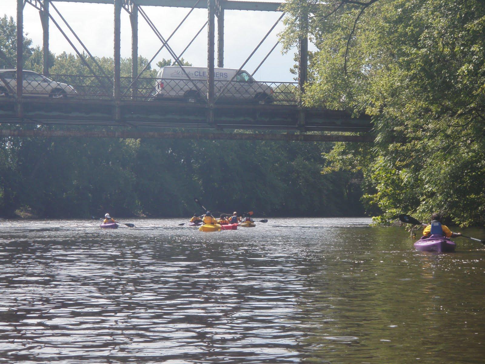 John 39 s kayak river of god kayak kamp dav 3 for Passaic river fishing