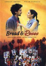 """Carátula del DVD: """"Pan y rosas"""""""