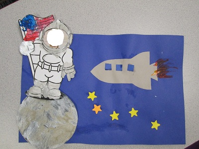 astronaut art project preschoolers - photo #40
