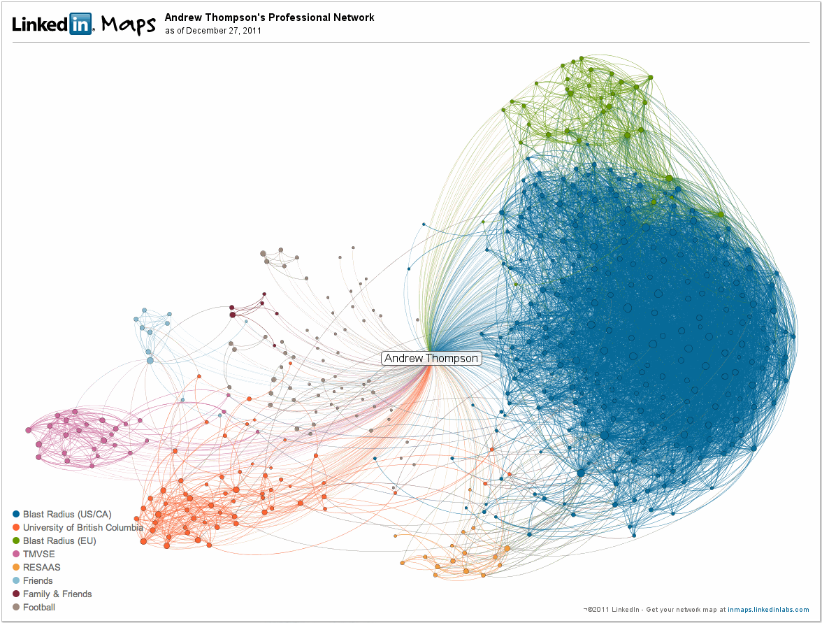 my social graph linkedin professional network andrew thompson link to my linkedin labs inmaps