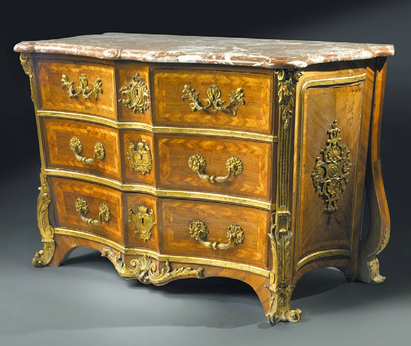 Regency period commode attributed to Alexander John Oppenordt